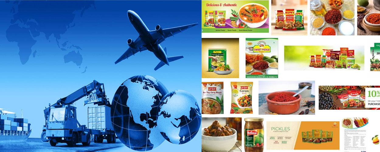 Food Items International Courier Services
